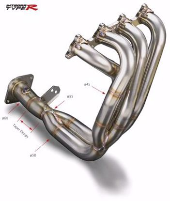 Picture of TODA Racing 4-2-1 Exhaust Manifold B Series 2 5 Collector 98 Spec