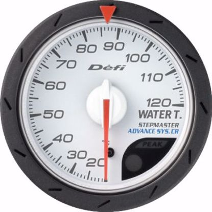 Picture of Defi Advance CR Water Temp Gauge White Face 60mm