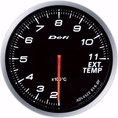 Picture of Defi Advance BF EGT Gauge 60mm AmberRed Illumination