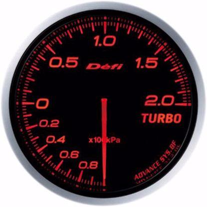 Picture of Defi Advance BF Turbo Boost Gauge 200kpa 60mm AmberRed Illumination
