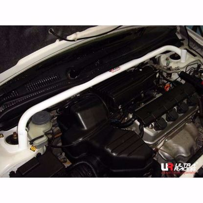 Picture of Ultra Racing Front Upper Strut Brace Civic Type R EP3/EP2 02-06 2 Point